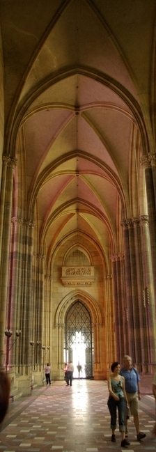 The Saint Vitus Cathedral, indoor